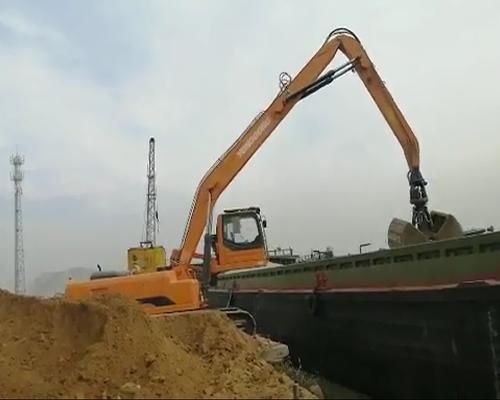 履带式抓料机YGSZ420码头抓土