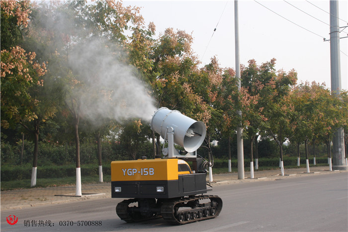 无线遥控式园林喷雾机
