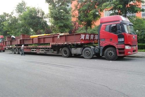 液压翻板抵达天津冶金集团