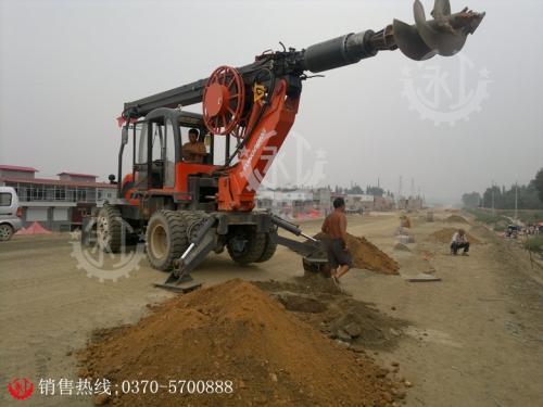 忻州轮式旋挖钻