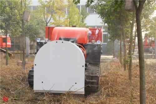 无线遥控式果园喷雾机