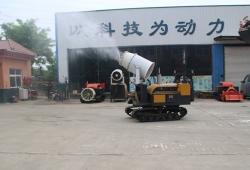 做永城人民的环保卫士 黄海机械空气净化器 ---上岗力压扬尘 治理环境污染