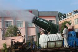 【关注】陈市长一行参观我公司新型环保设备-YGP永工系列风送式空气净化器