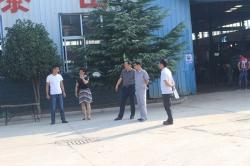 【新闻】市环保局长携众领导莅临黄海考察空气净化器使用情况!