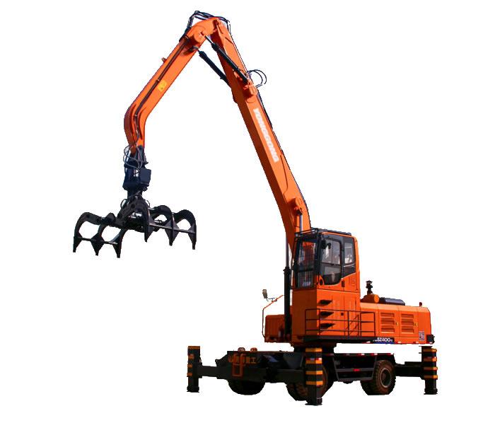 YGSLZ400轮式抓木机