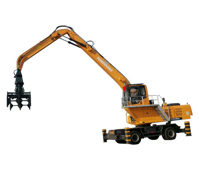 双动力抓木机YGSLZ420
