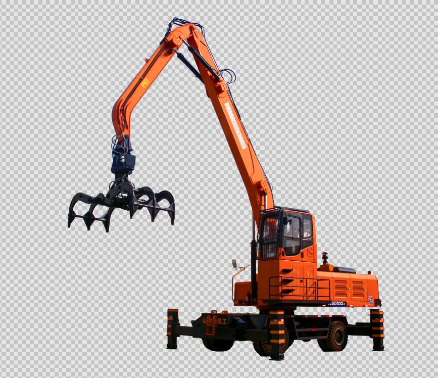 YGLZ400轮式抓木机