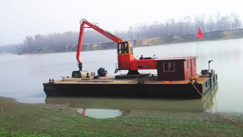 白银YGG420船吊清淤
