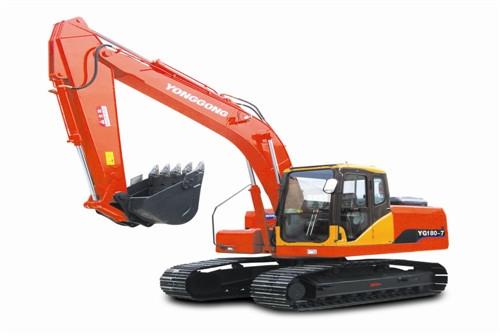 YG180-7履带挖掘机