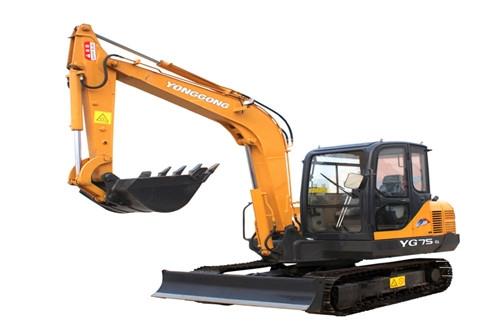 YG75-6履带挖掘机
