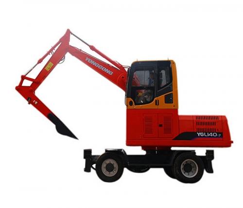 YGL160轮式卸煤机