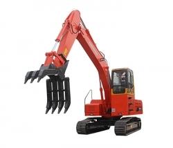 挖掘机抓木器保养技巧