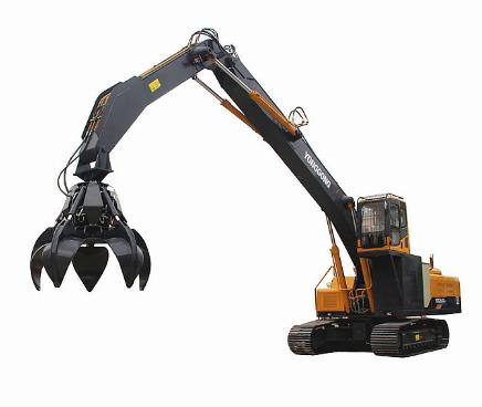 挖掘机抓钢机与普通挖掘机的区别