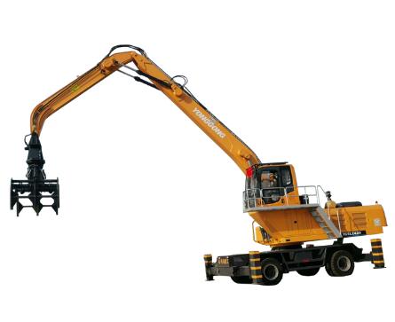 轮式抓木机如何维护和保养?