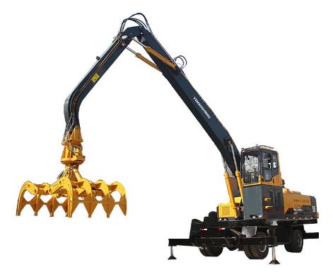抓木机车灯的维修保养方法